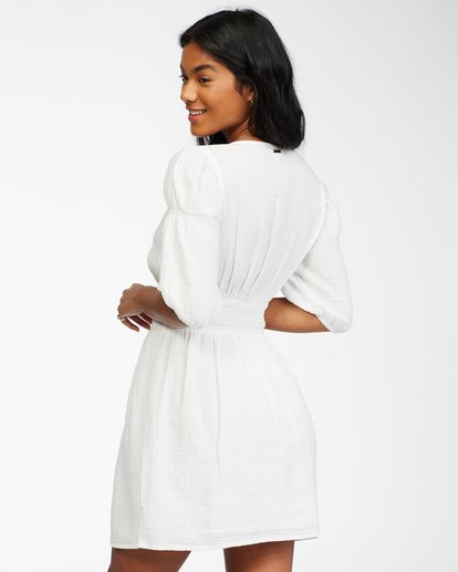 2 Spellbound Woven Dress White ABJWD00224 Billabong
