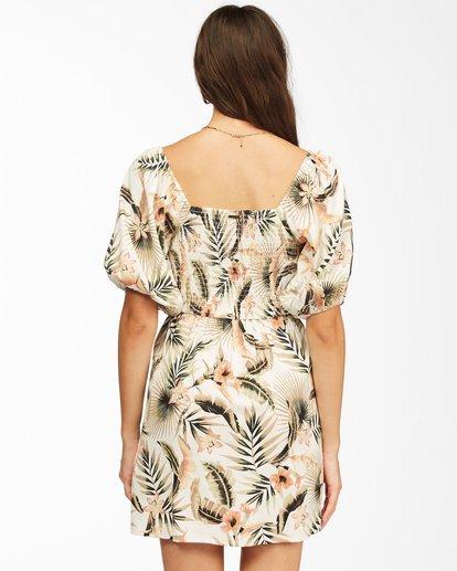 3 Paradise Mini Dress Grey ABJWD00225 Billabong
