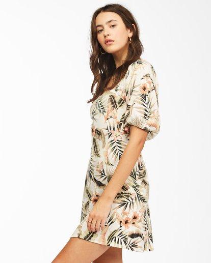 1 Paradise Mini Dress Grey ABJWD00225 Billabong