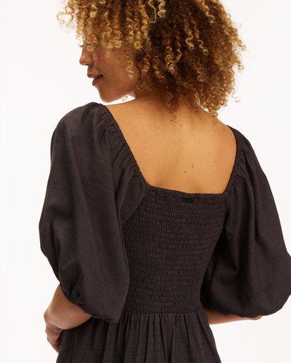 6 Paradise Mini Dress Black ABJWD00225 Billabong