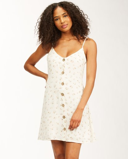 0 Sweet For Ya Dress White ABJWD00243 Billabong