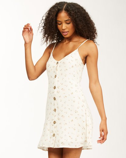 1 Sweet For Ya Dress White ABJWD00243 Billabong