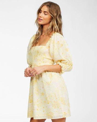 2 Groovy Girl Woven Dress Yellow ABJWD00246 Billabong
