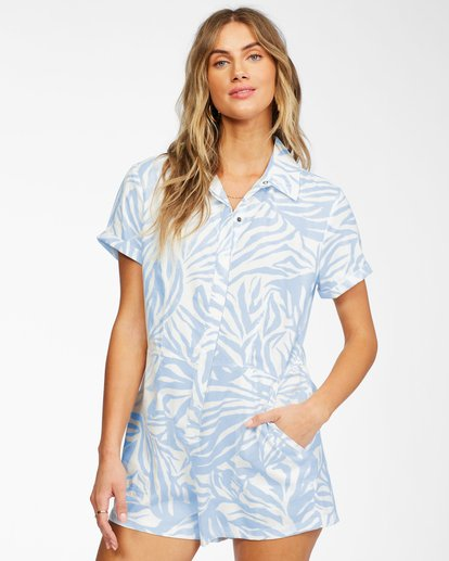 0 Heads Up Romper Brown ABJWD00248 Billabong