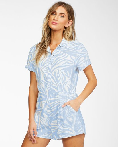 1 Heads Up Romper Brown ABJWD00248 Billabong