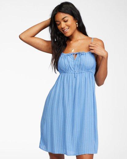 0 Feelin Blue Dress Purple ABJWD00249 Billabong