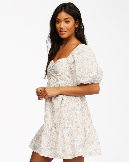2 Be Mine Dress White ABJWD00253 Billabong