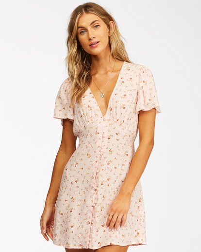 1 Full Swing Mini Dress Pink ABJWD00254 Billabong