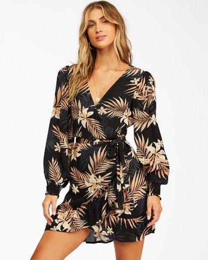 0 In My Heart Mini Dress Black ABJWD00257 Billabong