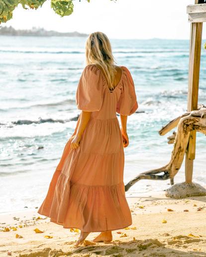 1 Endless Shore Maxi Dress Brown ABJWD00261 Billabong