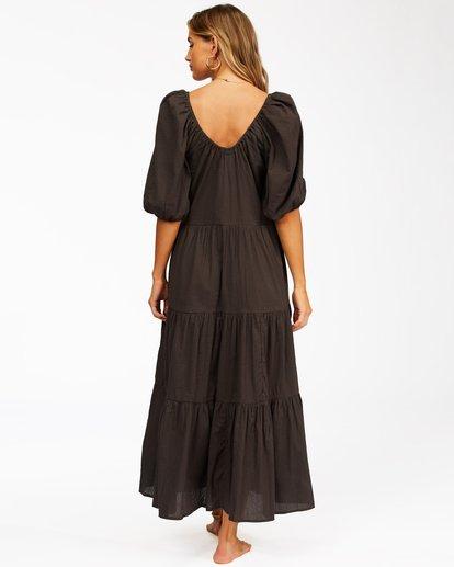 3 Endless Shore Maxi Dress Black ABJWD00261 Billabong