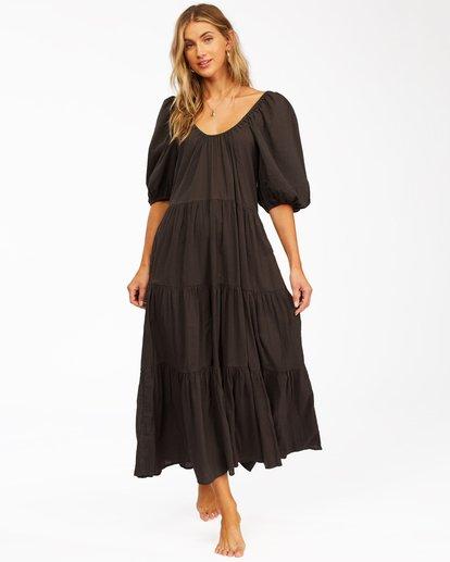 1 Endless Shore Maxi Dress Black ABJWD00261 Billabong