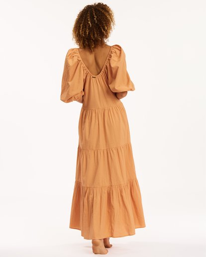 4 Endless Shore Maxi Dress Brown ABJWD00261 Billabong