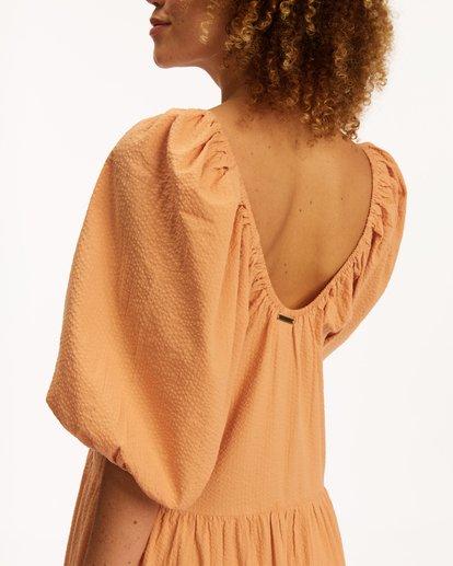 5 Endless Shore Maxi Dress Brown ABJWD00261 Billabong