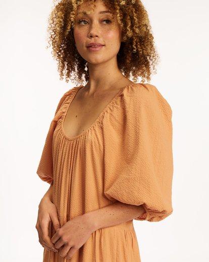 6 Endless Shore Maxi Dress Brown ABJWD00261 Billabong