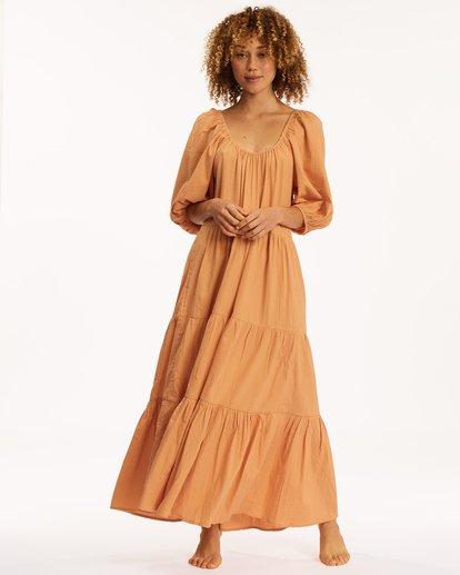 2 Endless Shore Maxi Dress Brown ABJWD00261 Billabong
