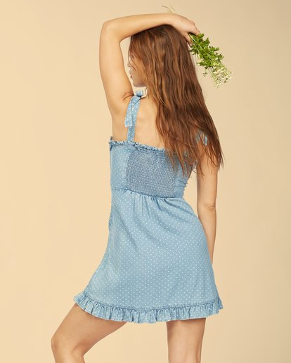 4 Wrangler Lovely Day Dress Blue ABJWD00269 Billabong