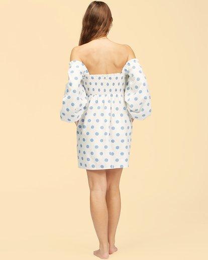 2 Wrangler Bellflower Dress White ABJWD00270 Billabong