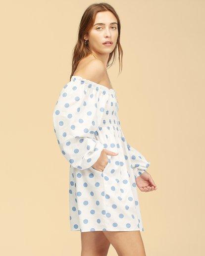 1 Wrangler Bellflower Dress White ABJWD00270 Billabong