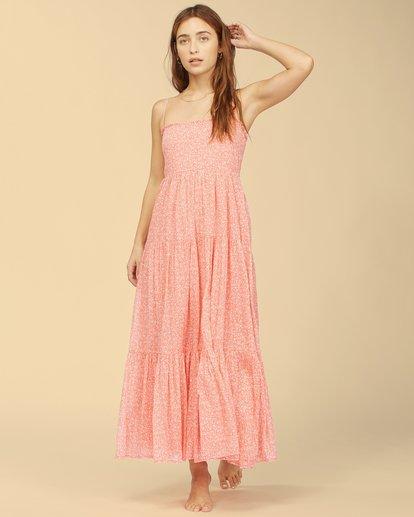 0 Wrangler Prairie Days Dress Pink ABJWD00271 Billabong
