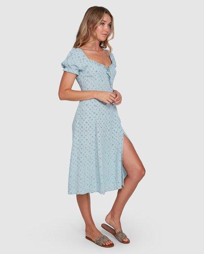 2 Seamist Midi Dress Blue ABJWD00274 Billabong