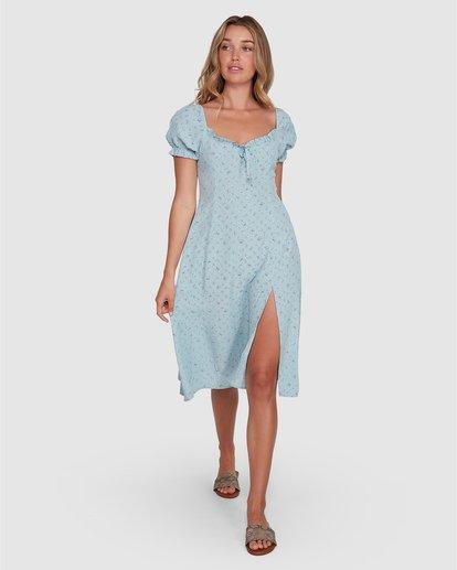 1 Seamist Midi Dress Blue ABJWD00274 Billabong