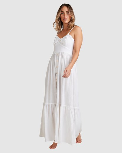 9 Franca Midi Dress White ABJWD00281 Billabong