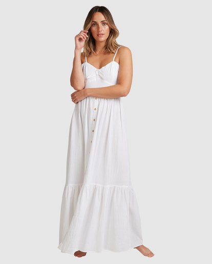 3 Franca Midi Dress White ABJWD00281 Billabong