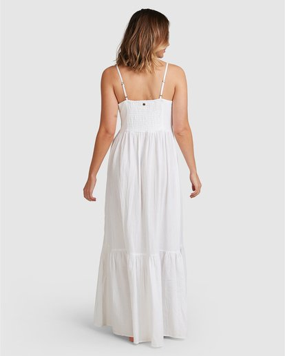 7 Franca Midi Dress White ABJWD00281 Billabong