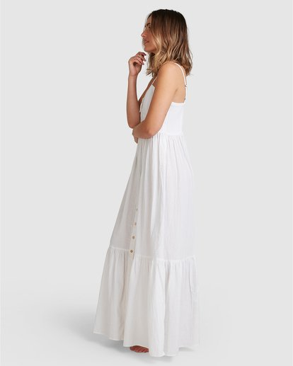 6 Franca Midi Dress White ABJWD00281 Billabong