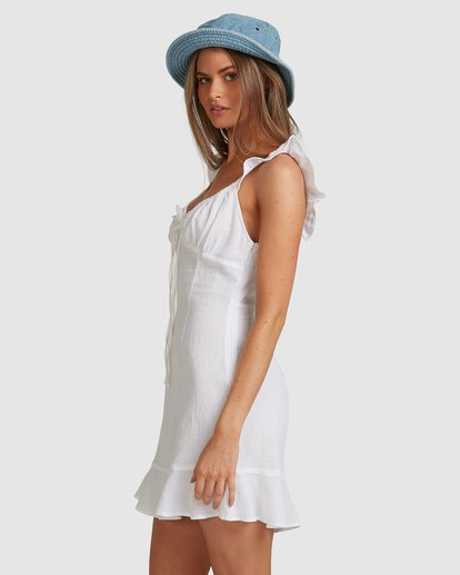 1 Beach Bliss Dress - Steph Claire Smith White ABJWD00293 Billabong