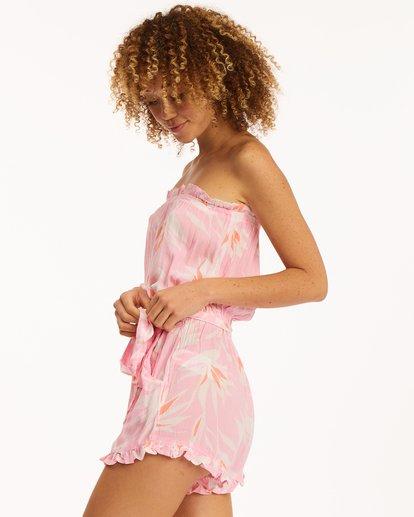 2 Flower Days Romper Pink ABJWD00295 Billabong