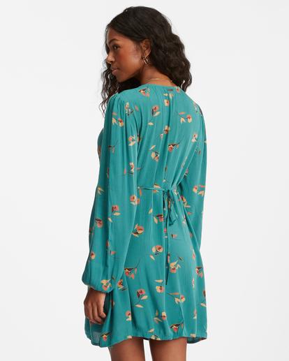 2 Days On End Mini Dress Green ABJWD00332 Billabong