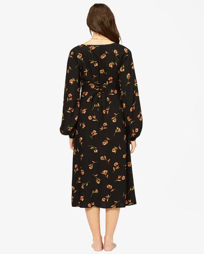 2 Sweet To Me Long Sleeve Maxi Dress Black ABJWD00333 Billabong