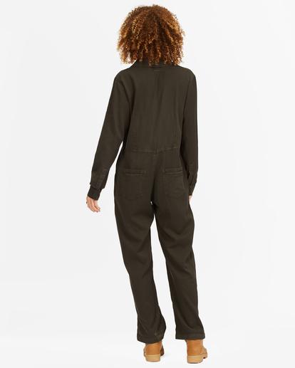 2 Go With The Flow Jumpsuit Black ABJWD00336 Billabong