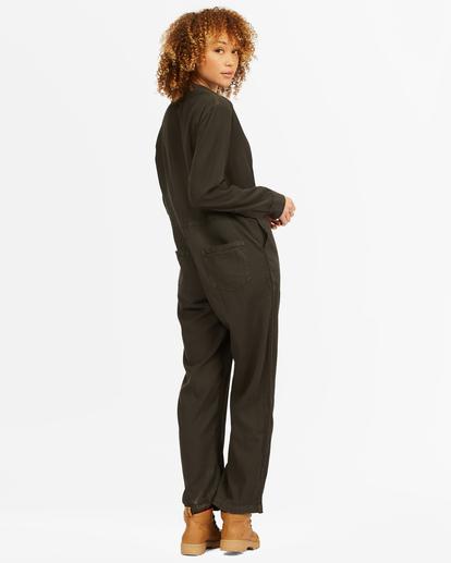 1 Go With The Flow Jumpsuit Black ABJWD00336 Billabong
