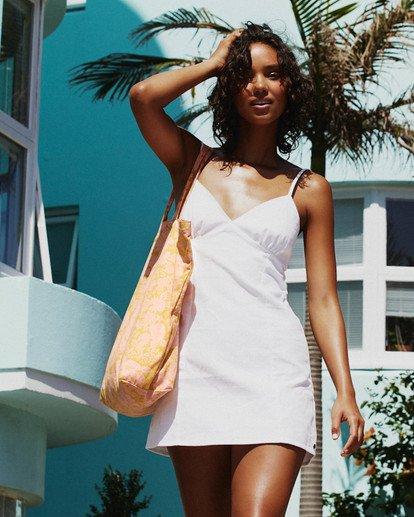 0 Sunny Dayz Dress White ABJWD00339 Billabong