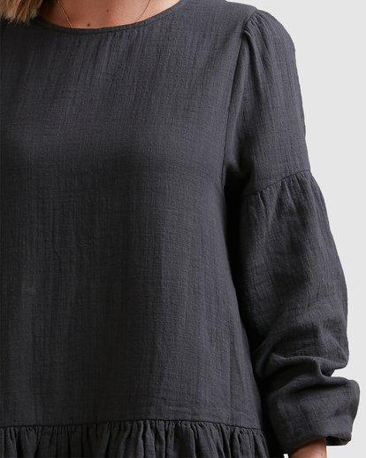 4 Wishes Tiered Dress Black ABJWD00346 Billabong
