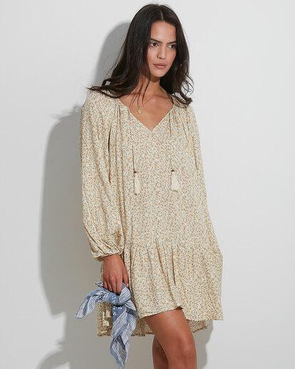 0 Dream Isle Charmer Mini Dress Beige ABJWD00378 Billabong