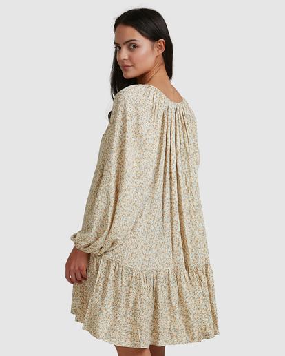 3 Dream Isle Charmer Mini Dress Beige ABJWD00378 Billabong