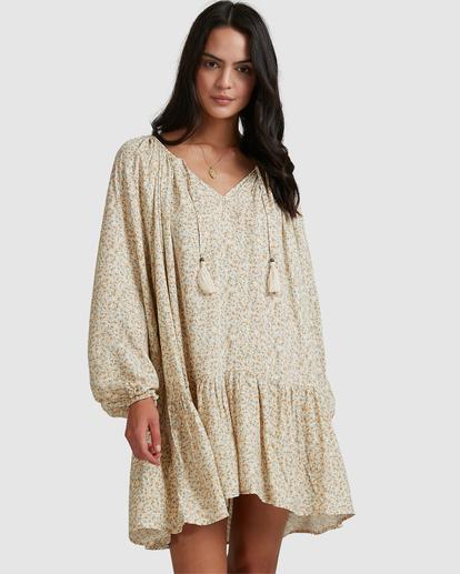 1 Dream Isle Charmer Mini Dress Beige ABJWD00378 Billabong