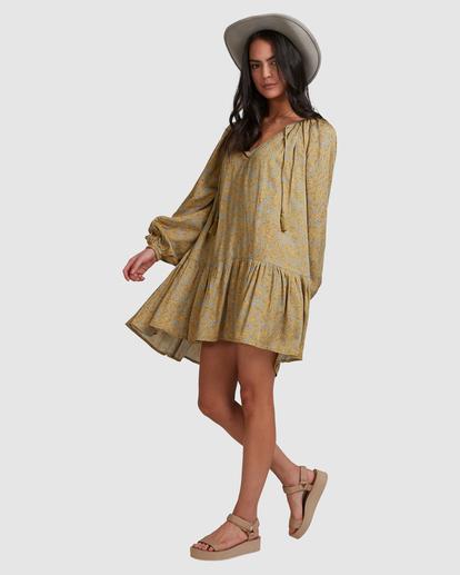 5 My Oasis Mini Dress Green ABJWD00379 Billabong