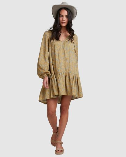 1 My Oasis Mini Dress Green ABJWD00379 Billabong