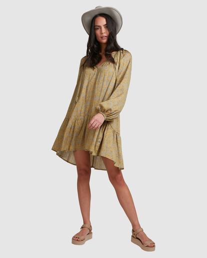 4 My Oasis Mini Dress Green ABJWD00379 Billabong