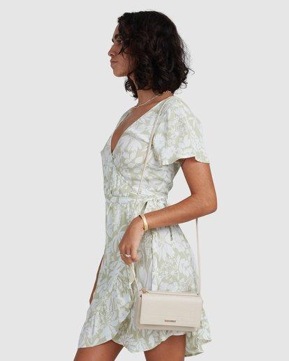 2 Honey Dew Wrap Dress Green ABJWD00382 Billabong