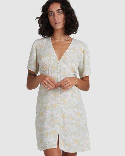 5 Melody Dress Green ABJWD00383 Billabong