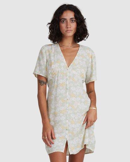 4 Melody Dress Green ABJWD00383 Billabong