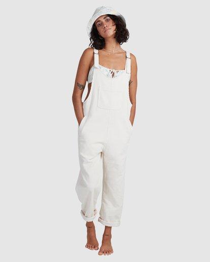 5 Tell Me Jumpsuit White ABJWD00385 Billabong