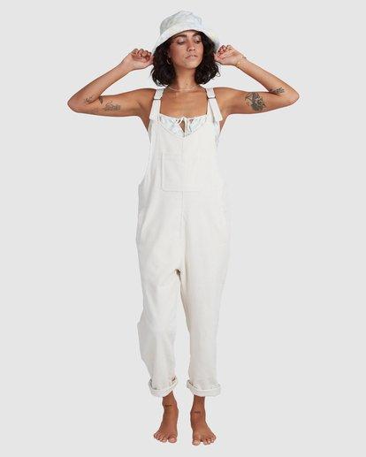 3 Tell Me Jumpsuit White ABJWD00385 Billabong
