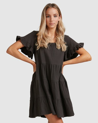 3 Pixie Dress Black ABJWD00389 Billabong